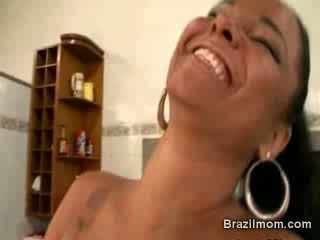 Brazilian Mother two Dick bang