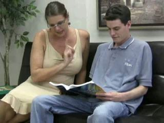 velká prsa, zralý, maminky a boys