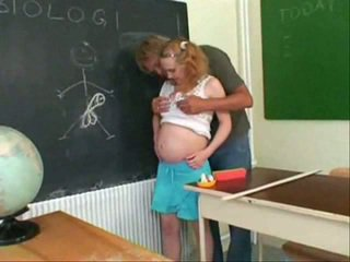Pregnant teen fuck