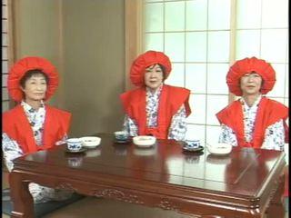japanese, granny