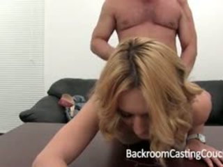 Tara Auditions Anally For Backroom Casting Couch