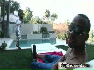 Justin gets arse screwed door zwart lul 3 door guydestroyed