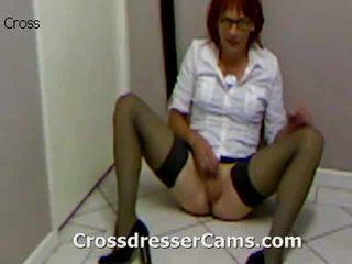 crossdresser, bunda, crossdressing