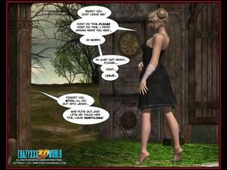 Tatlong-dimensiyonal komiko nymph 1