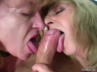 Two Granny One Dick: Free Real Granny Porn Porn Video ae