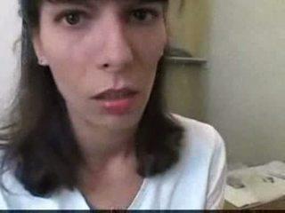 Euro teen fucking at bathroom Video