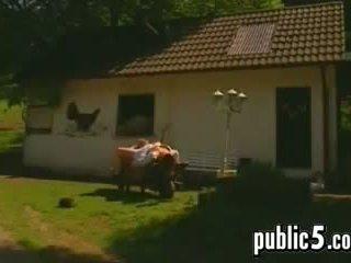 German Couple On A Farm Fucking