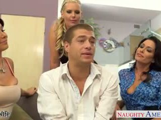 Wives jessica jaymes, phoenix marie and romi ýagyş fuck in fo