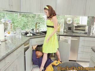 Housewife BBC Stuffed in Interracial Trio: Free HD Porn 65