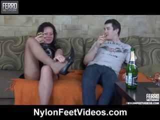 Sibylla e vitas breathtaking collants pés ação