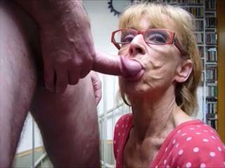 robienie loda, cum w ustach, babcie
