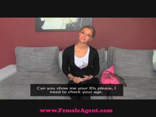 Femaleagent sleaze blondine nymfomane