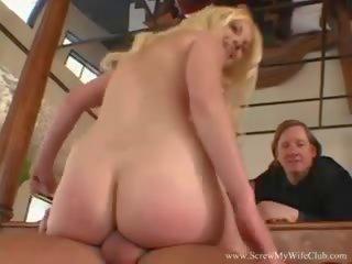 Florida blondīne sieva fucks male pornozvaigzne, porno 66