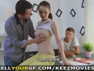 jong, cumshots, grote borsten