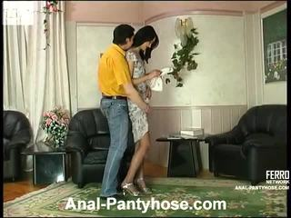 brunete, assfucking, anal sex