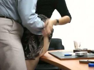 Tajemník dostat fucked v kancelář