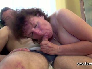 موم اشتعلت ألماني صبي و الحصول على مارس الجنس في كل holes
