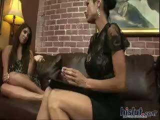 brunette, lesbian, masturbation