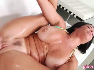 new brunette, squirting you, anal sex real