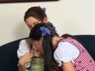 Horny Austrian Lesbo Teens
