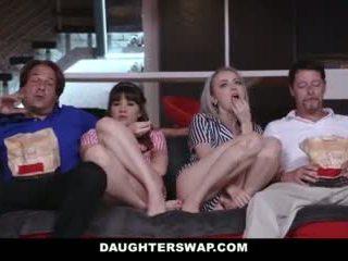 Daughterswap - paaugliai apgautas į dulkinimasis tėtis geriausias draugas