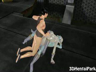 hentai, toon, alien