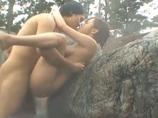 japanse, openbare sex, grote borsten
