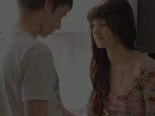 Søt tenåring mirabella i den orgasme leading faen session