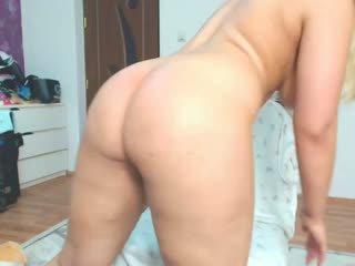 cô gái tóc vàng, big butts