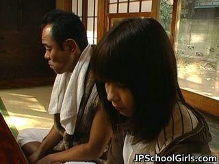 Haru sakuragi ázijské školáčka has sex