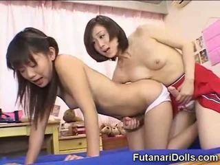 japoński, mały, futanari