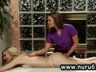 Abby перетинати і amanda tate масаж