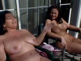 Aunt Has Fun with Stepnephews Girlfriend, Porn bf
