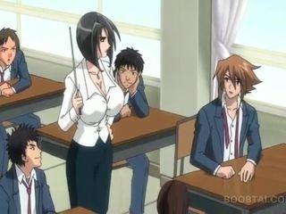 छात्र, जापानी, कार्टून