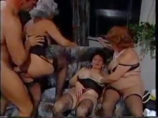 German Granny Group: Stockings Porn Video ae