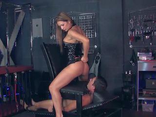 ass licking, high heels, femdom