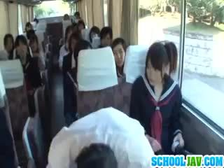 Teen On A Public Bus Puts Her Face In ...