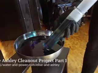 Ashley cleanout projekts daļa 1