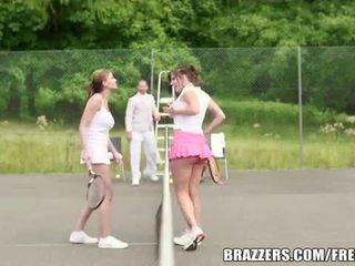 Abbie cat ある a いたずらな テニス ベイブ