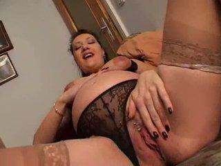 Montok hamil wanita rubbing merebut video