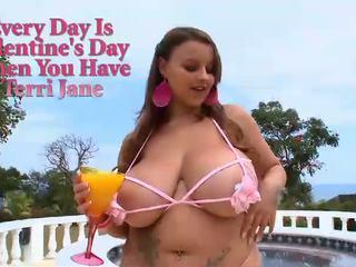 Ik diena ir valentines diena kad jums būt terri jane