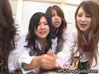 亞洲人 schoolgirls are having 一 ma holeive 組 性別