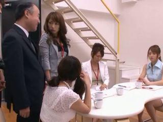 Japán av modell szopás fasz