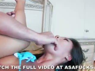뜨거운 아시아의 asa akira loves 거칠게 섹스