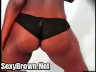 Sexy bruin mijn groot kont friends zwart diamond nat phat azz