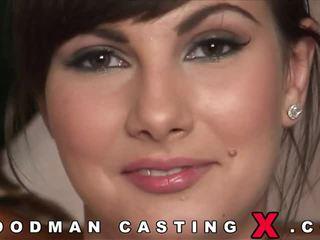 Bunette enjoy anal casting