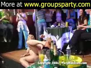 Lief party in nacht club