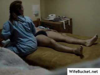 Enfermera follada en oculto cámara