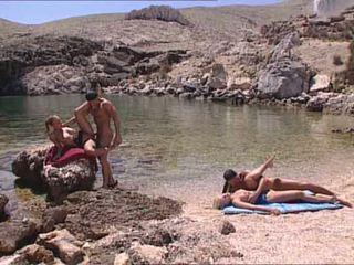 Sexy blondes scopata a greco island video