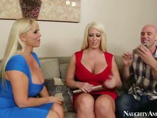 Karen Fisher And Alura Jenson Sharing ...